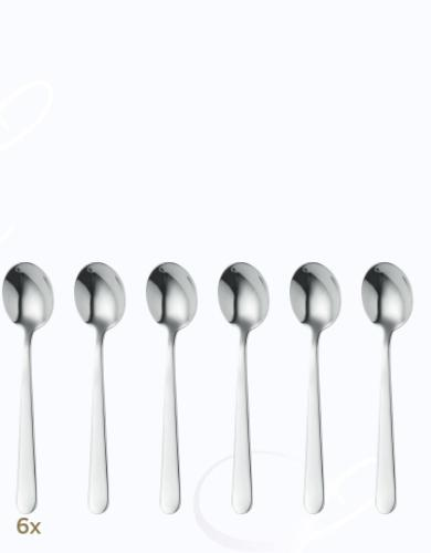 BSF Melody mocha spoons set 6 pcs  Composition