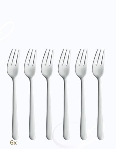 BSF Melody pastry forks set 6 pcs  Composition