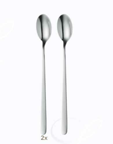 BSF Melody iced beverage spoons set 2 pcs  Composition