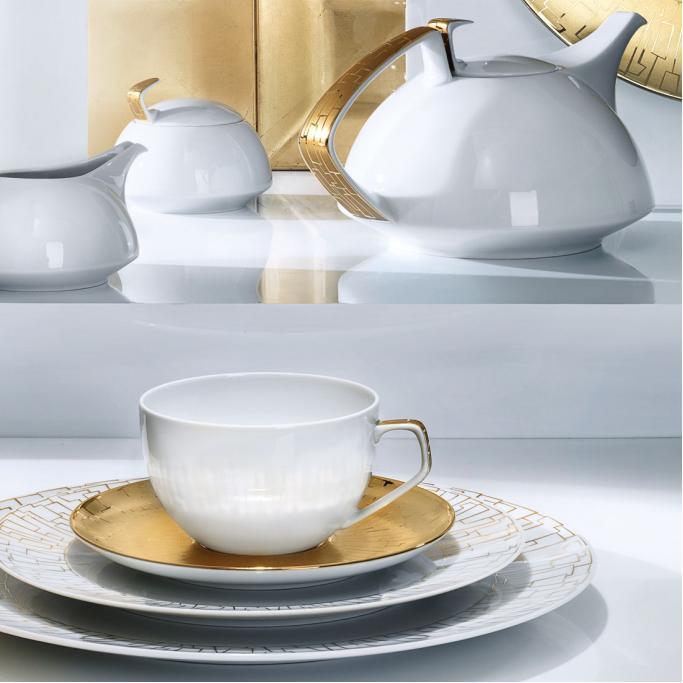 rosenthal tac skin gold porzellan bei besteckliste. Black Bedroom Furniture Sets. Home Design Ideas