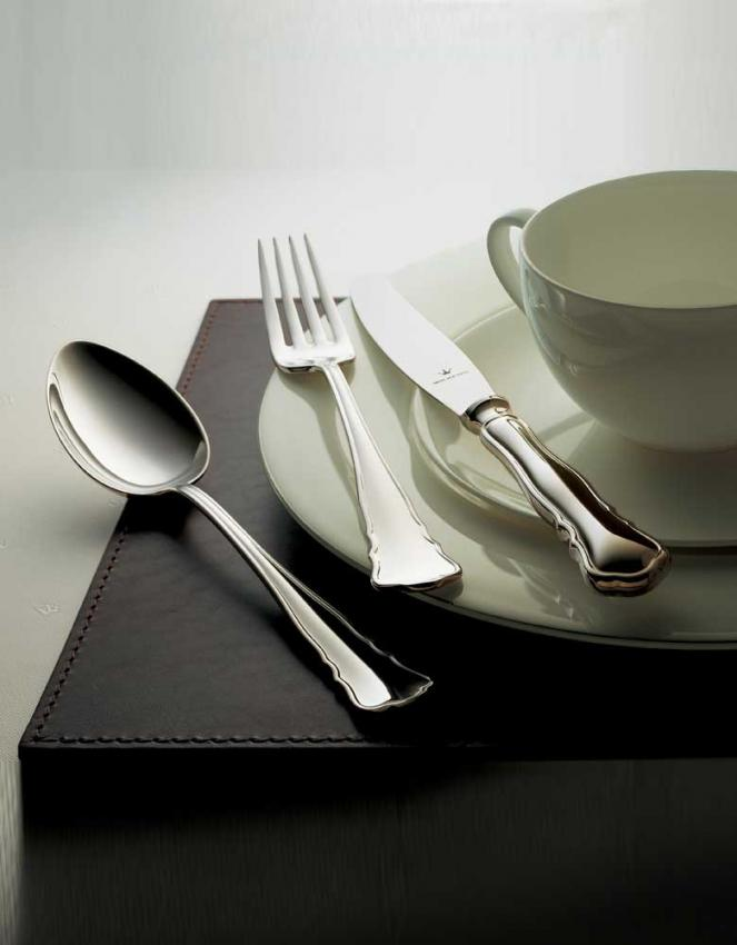 wilkens s hne chippendale besteck in versilbert. Black Bedroom Furniture Sets. Home Design Ideas