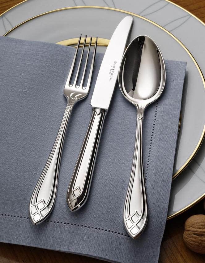robbe berking arcade cutlery in silverplated. Black Bedroom Furniture Sets. Home Design Ideas