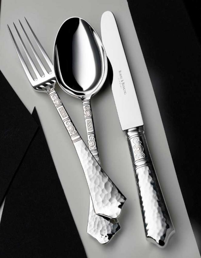 robbe berking hermitage cutlery in sterling. Black Bedroom Furniture Sets. Home Design Ideas