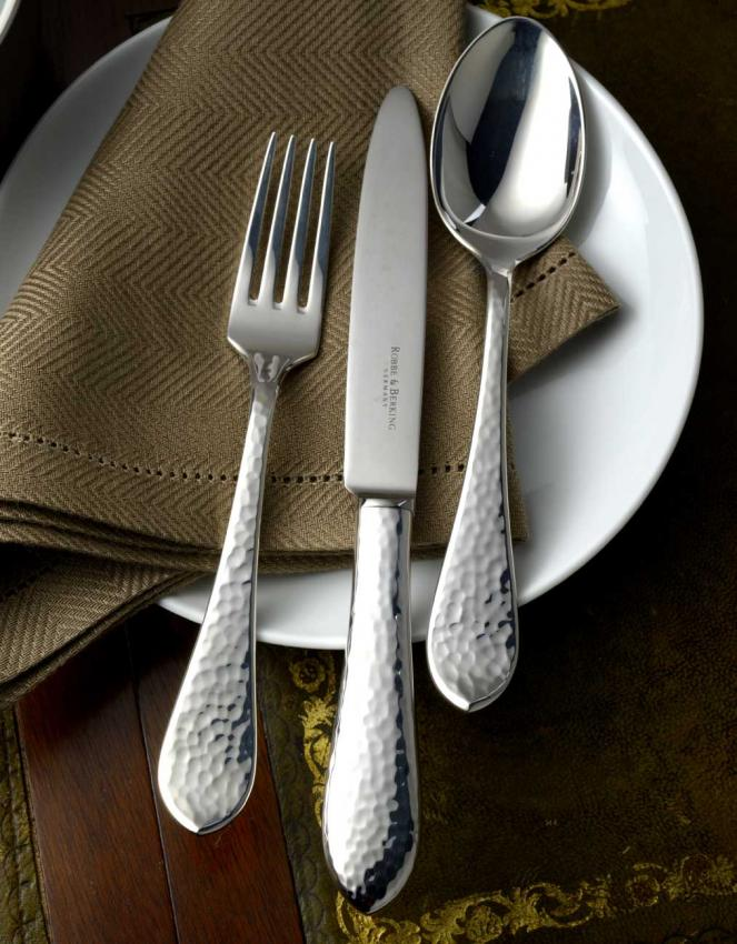 robbe berking martele cutlery in silverplated. Black Bedroom Furniture Sets. Home Design Ideas