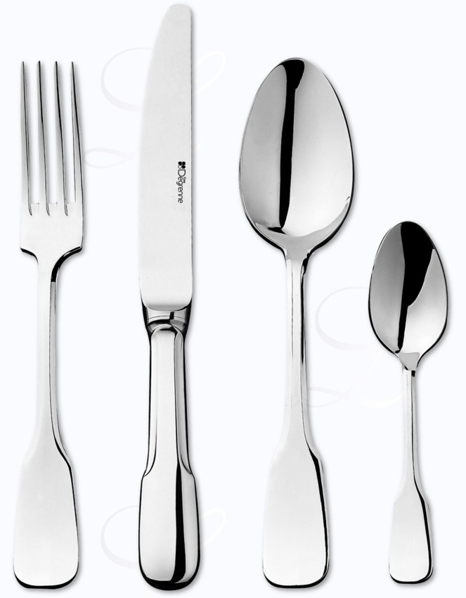 Guy degrenne lutece cutlery in stainless at besteckliste - Guy degrenne marseille ...
