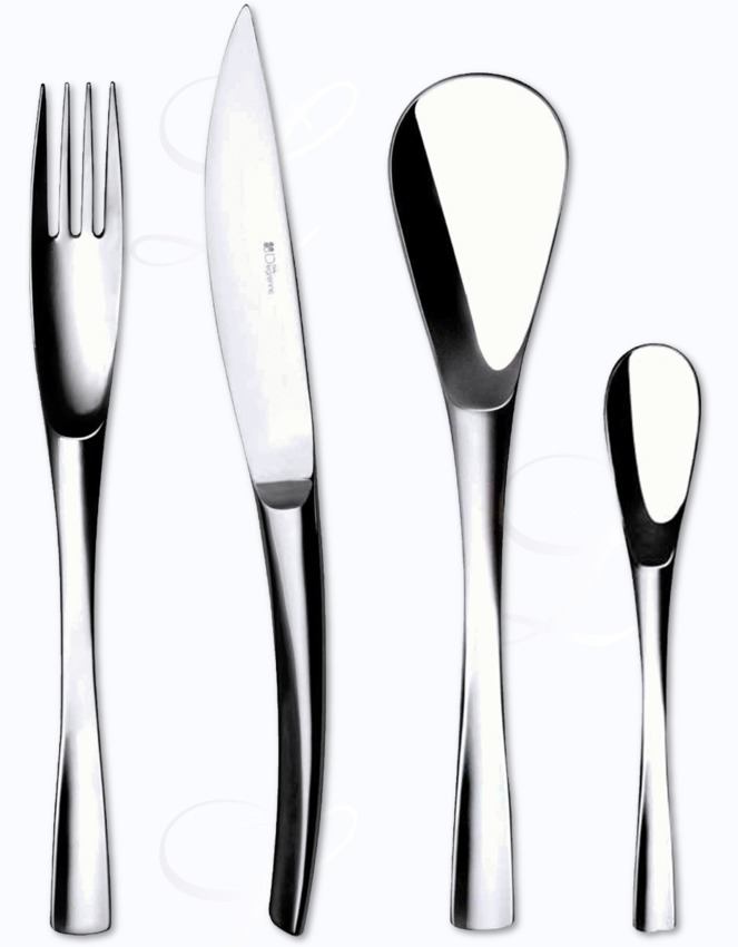 Guy degrenne xy cutlery in stainless at besteckliste - Guy degrenne marseille ...