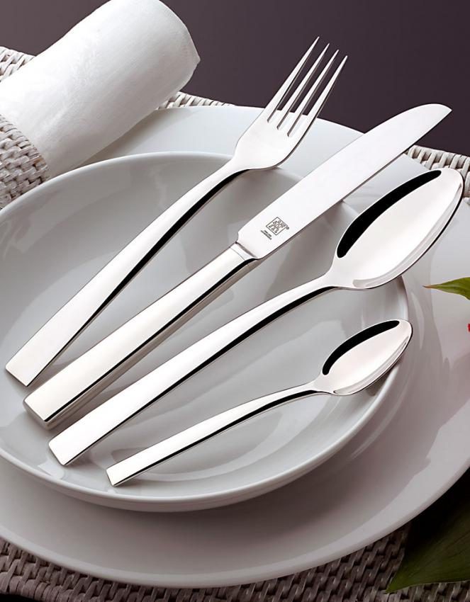 zwilling j a henckels meteo cutlery in stainless. Black Bedroom Furniture Sets. Home Design Ideas