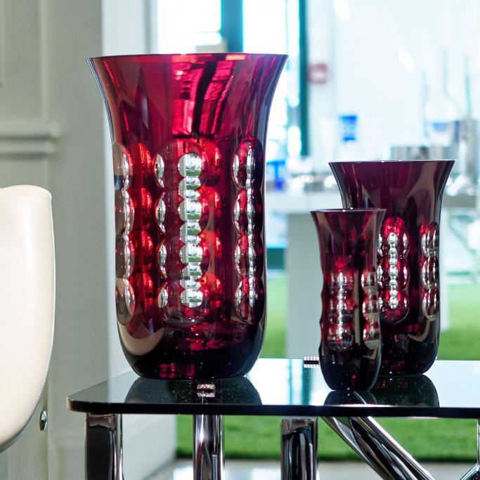 Christofle Kawali Living From Vase Large To Vase Small