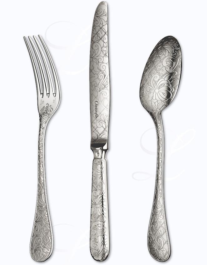 "Jardin D/'Eden by Christofle Silverplate Sauce Spoon 6 3//4/"" Serving"