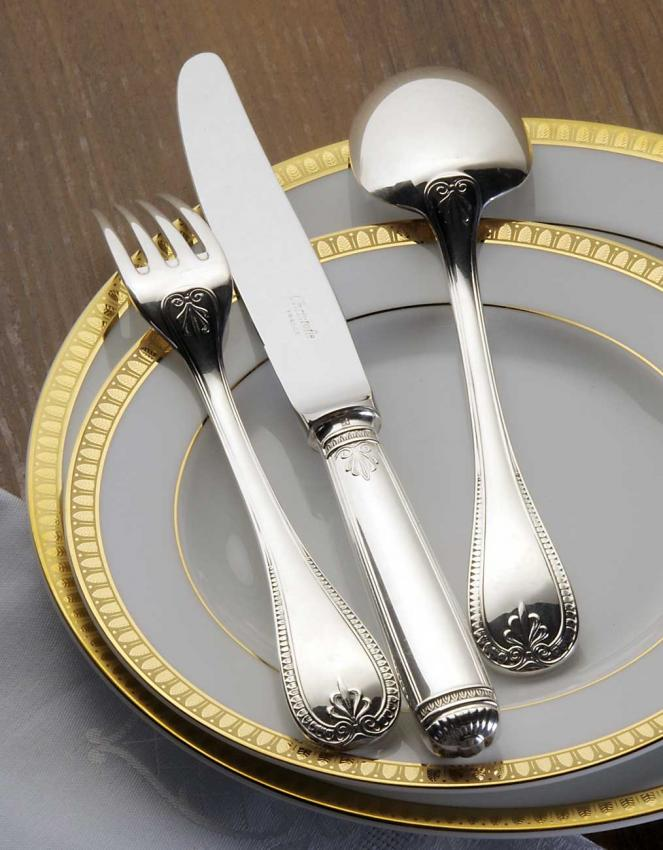 Christofle Malmaison Cutlery In Sterling At Besteckliste