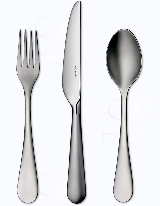 Christofle Origine Mat Cutlery In Stainless At Besteckliste