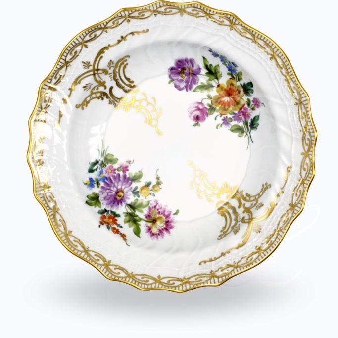 Dresden Porcelain Blume Golddekor soup plate  sc 1 st  Besteckliste & Dresden Porcelain Blume Golddekor dinnerware collection