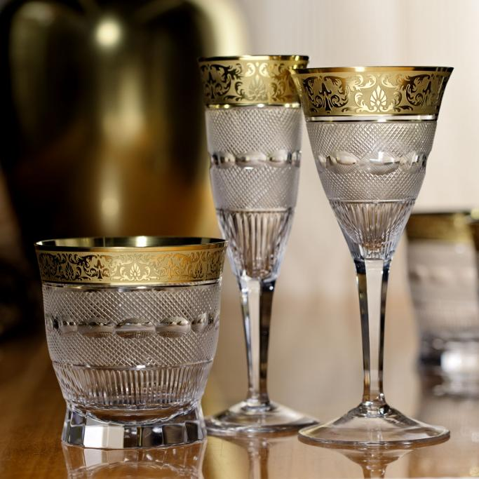 Moser Splendid glassware - from wine cooler to drinking