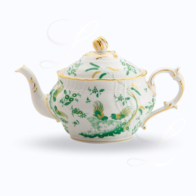Richard Ginori Oro di Doccia Giada teapot  sc 1 st  Besteckliste & Richard Ginori Oro di Doccia Giada dinnerware collection