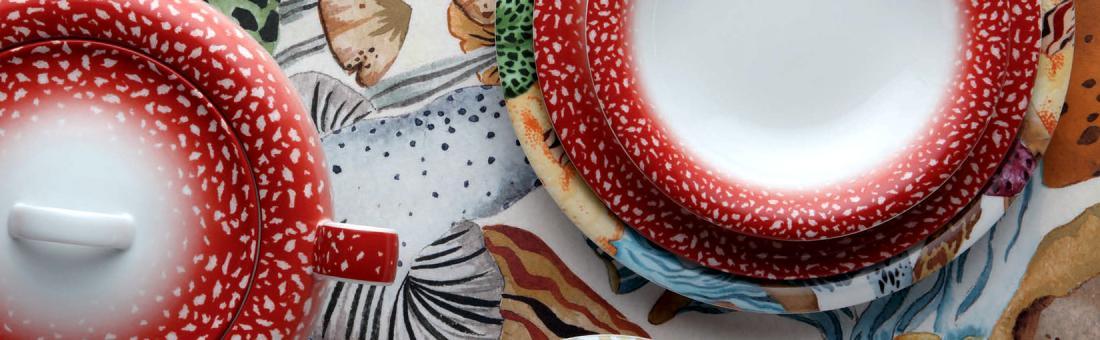 Missoni Home Ch&ignon dinnerware & Missoni Home Champignon dinnerware - from tureen to mug