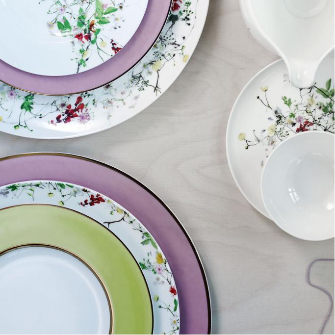 rosenthal brillance fleurs sauvages porzellan kollektion. Black Bedroom Furniture Sets. Home Design Ideas