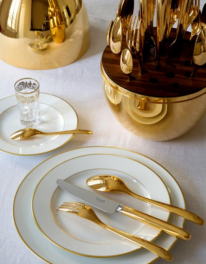 Christofle Mood Gold