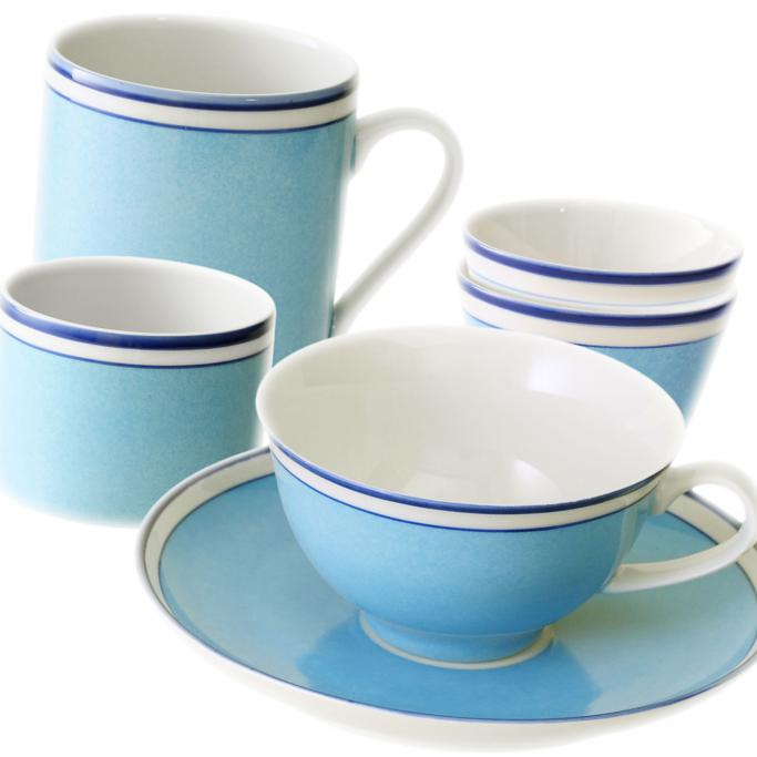 reichenbach colour sylt blau porzellan bei besteckliste. Black Bedroom Furniture Sets. Home Design Ideas