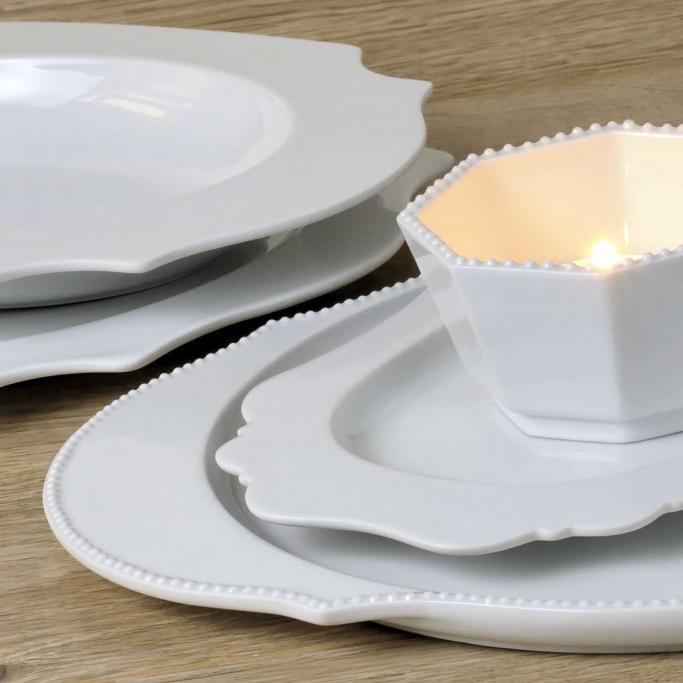 reichenbach taste white porzellan bei besteckliste. Black Bedroom Furniture Sets. Home Design Ideas