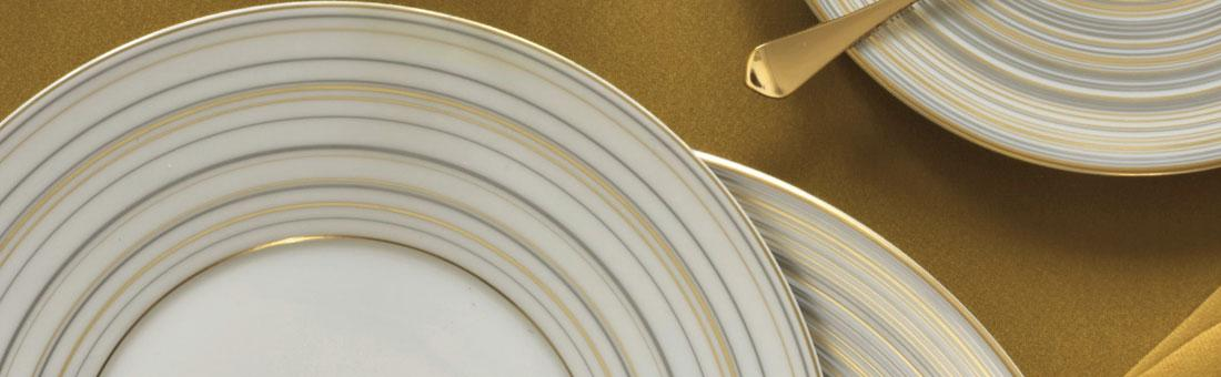 Raynaud Attraction Or Et Platine dinnerware