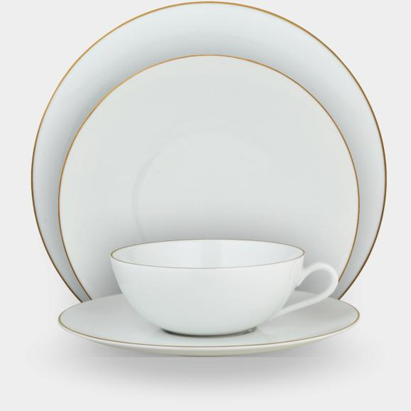 Raynaud Monceau Or porcelain  - from tureen to bread