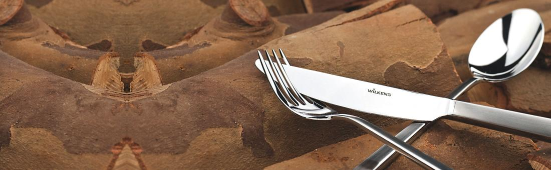 Wilkens cutlery in 925g sterling, collectors edition and silverplated