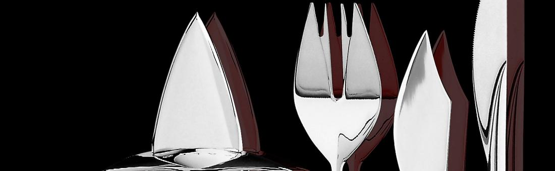 Carl Mertens cutlery in stainless 18/10 and masterpieces