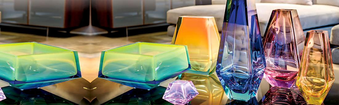 Moser Crystal living