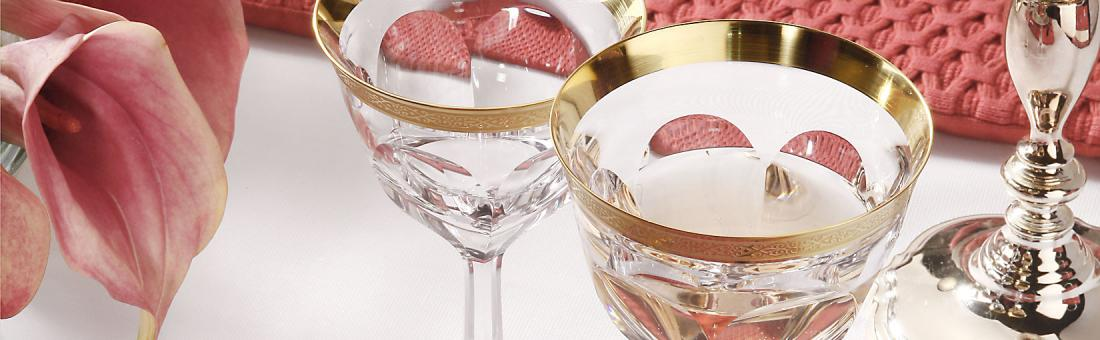 Moser Crystal glassware